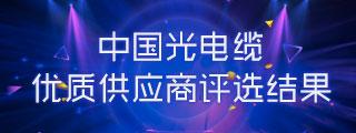 2017年度中国光电缆优质供应商评选结果