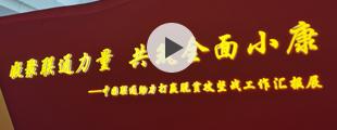 """中国联通举办""""脱贫攻坚 联通力量""""主题大会"""