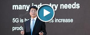 视频 | 听听华为轮值董事长郭平谈现实版的煤矿行业5G应用