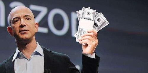 贝索斯卖出逾45万股亚马逊股票 套现逾14亿美元